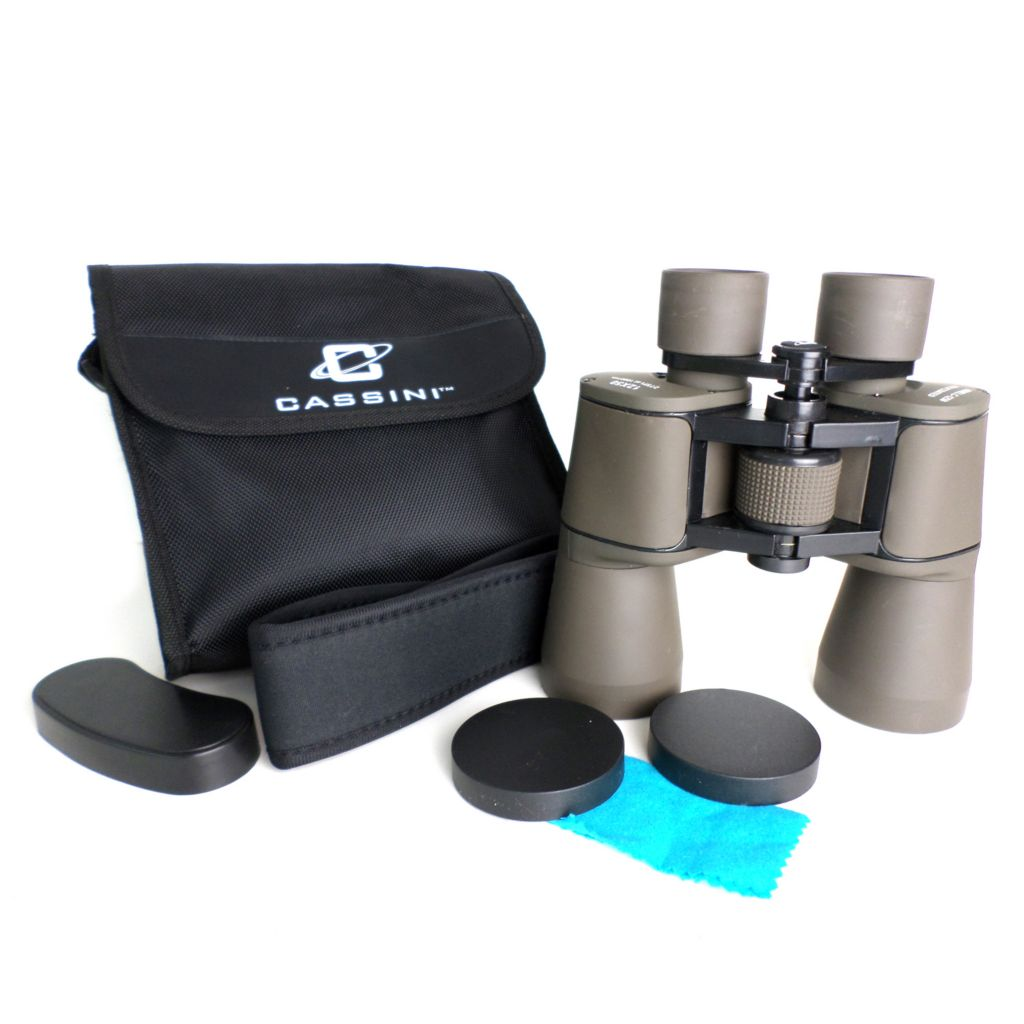 445-799 - Cassini 12x50mm Astronomical Binocular w/ Case