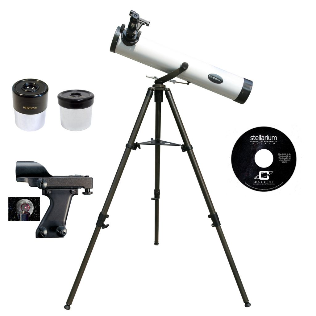 445-801 - Cassini 800mmx80mm Reflector Telescope Kit
