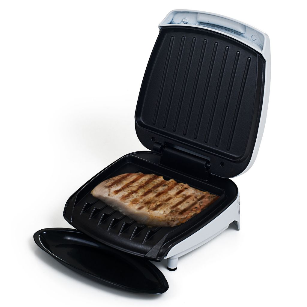 445-852 - Chef Buddy™ Electric Nonstick Inclined Dual Heating Zone Grill