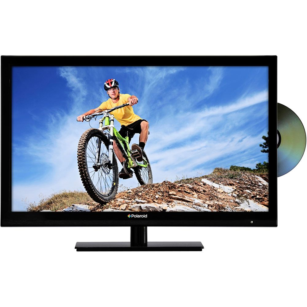 "445-869 - Polaroid 24"" Widescreen 1080p 60Hz LED HDTV w/ Built-in DVD Player"