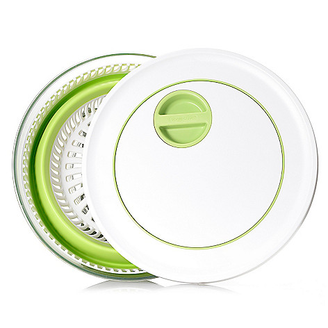 445-878 - Progressive® Prep Works™ Collapsible 4 qt Salad Spinner w/ Lid
