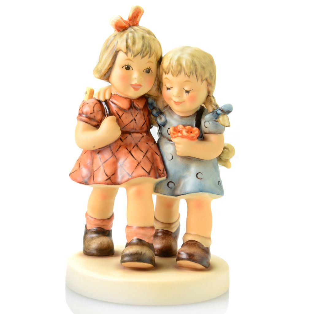 "445-891 - M.I. Hummel® ""Best Friends"" 5.5"" Porcelain Hand-Crafted Figurine"