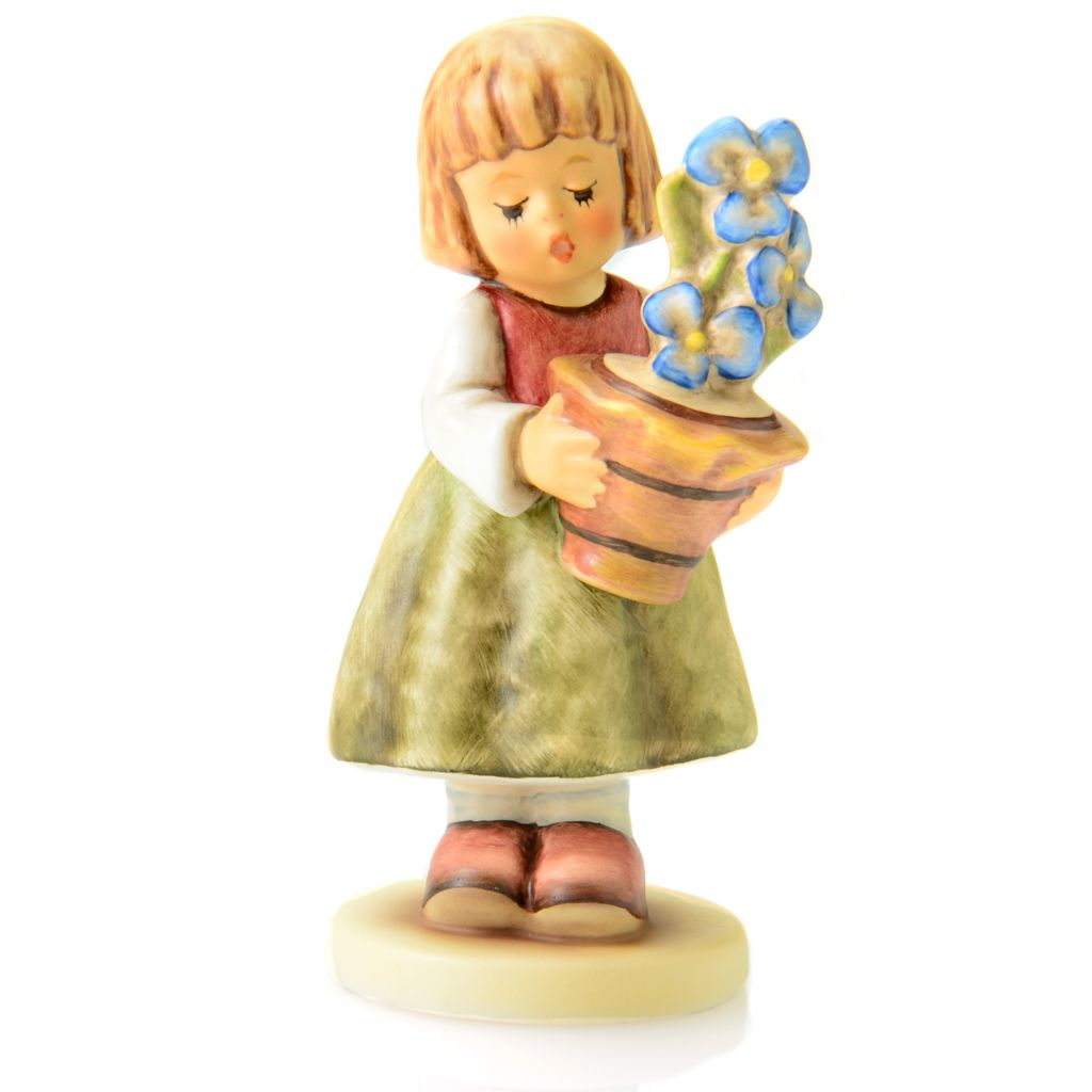 "445-892 - M.I. Hummel® ""Birthday Present"" 4"" Porcelain Hand-Crafted Figurine"