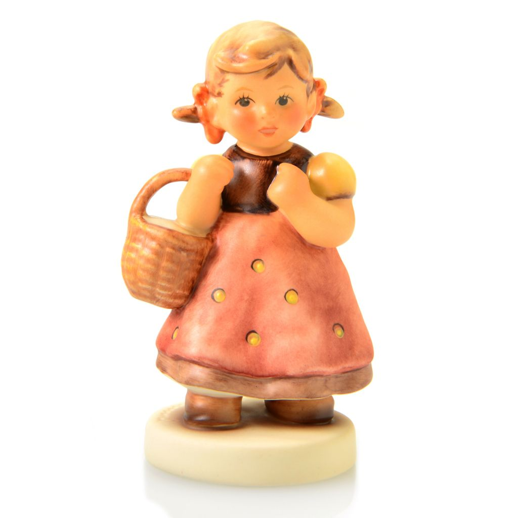 "445-893 - M.I. Hummel® ""Come with Me"" 3.25"" Porcelain Hand-Crafted Figurine"