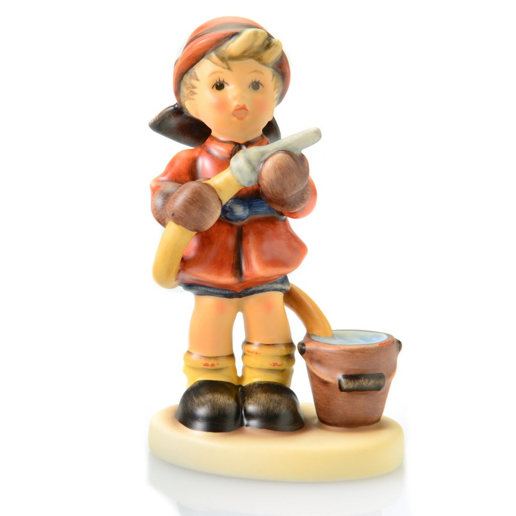 "445-934 - M.I. Hummel® ""Firefighter"" 4.5"" Porcelain Hand-Crafted Figurine"