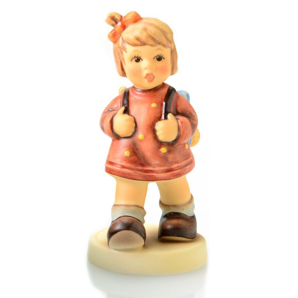 """445-937 - M.I. Hummel® """"Kindergarten"""" 3.25"""" Porcelain Hand-Crafted Figurine"""