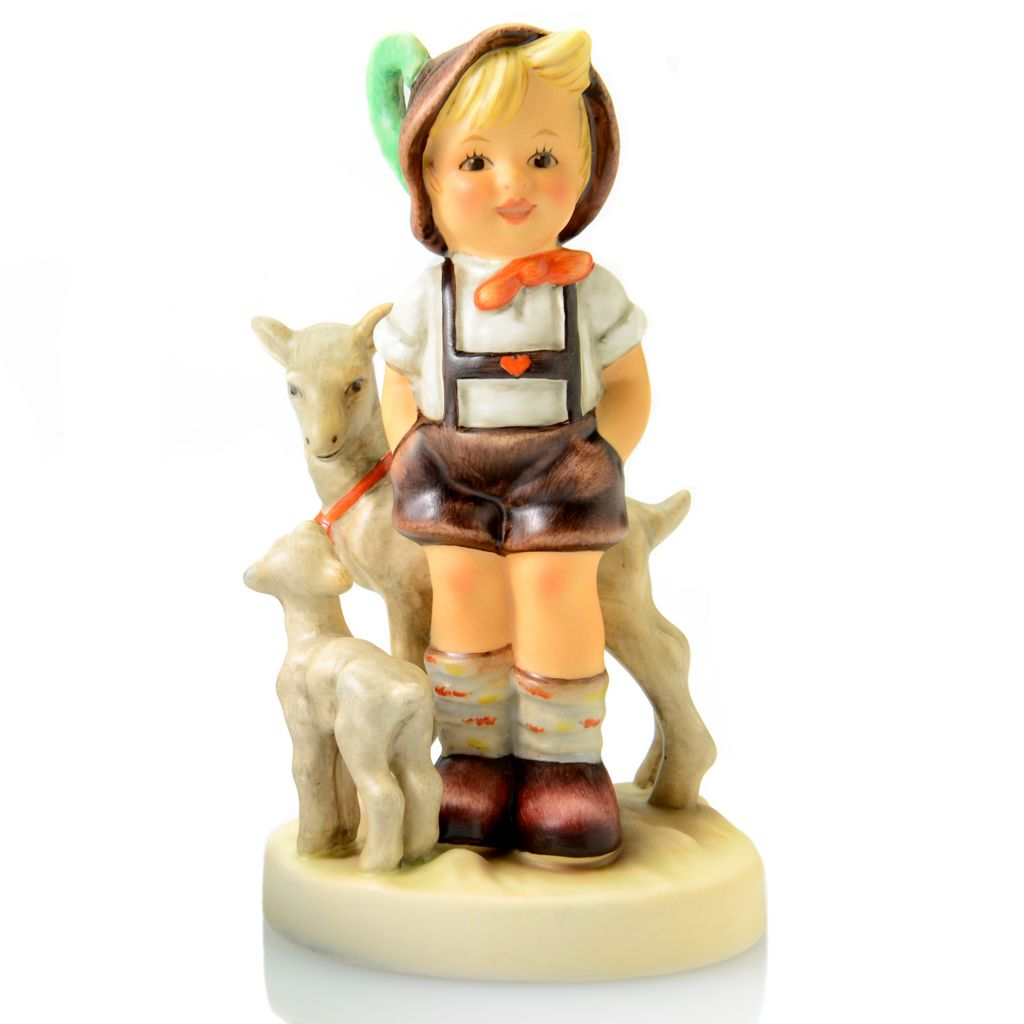 "445-939 - M.I. Hummel® ""Little Goat Herder"" 4.75"" Porcelain Hand-Crafted Figurine"