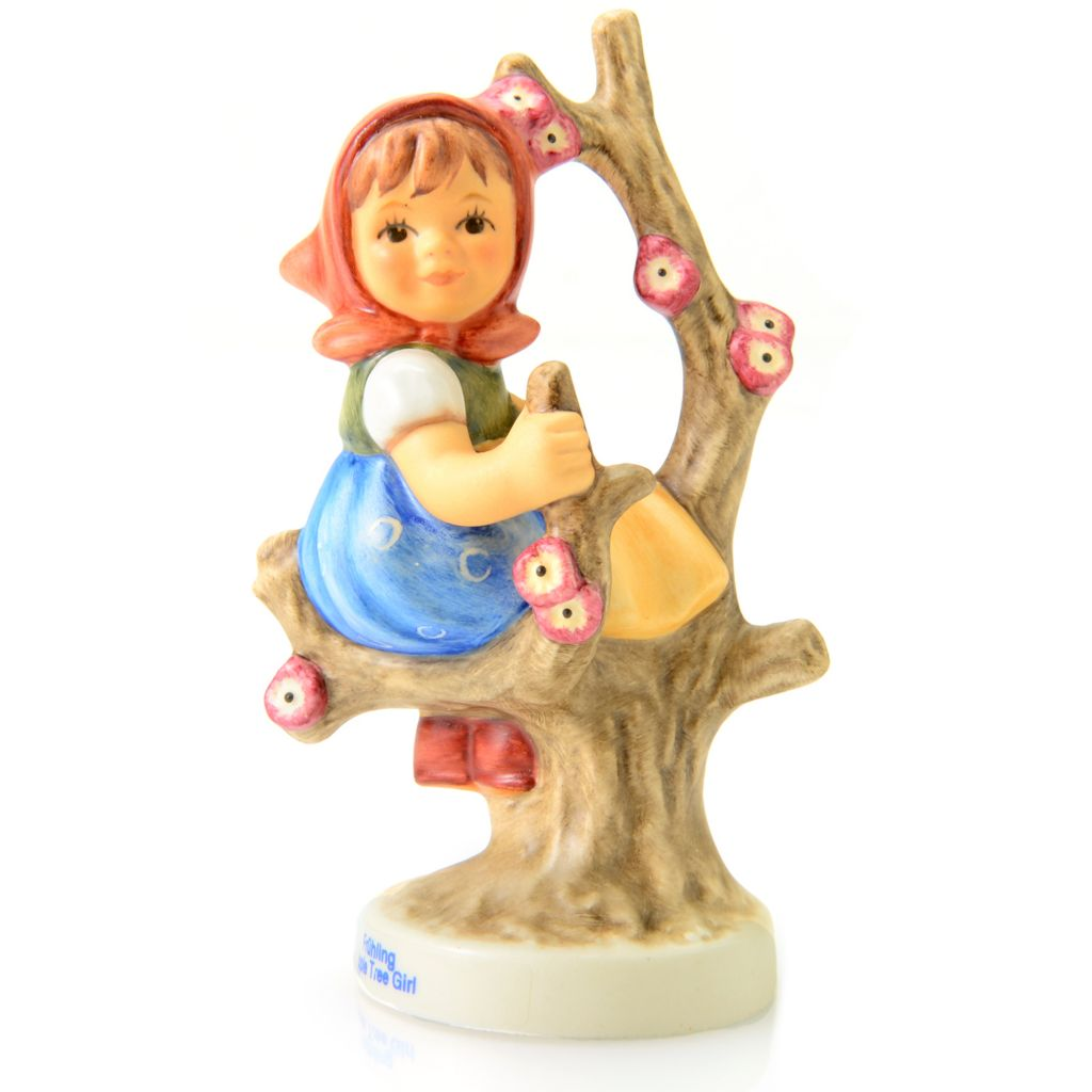 "445-944 - M.I. Hummel® Choice of ""Apple Tree"" Boy or Girl 3.5"" Porcelain Figurine"