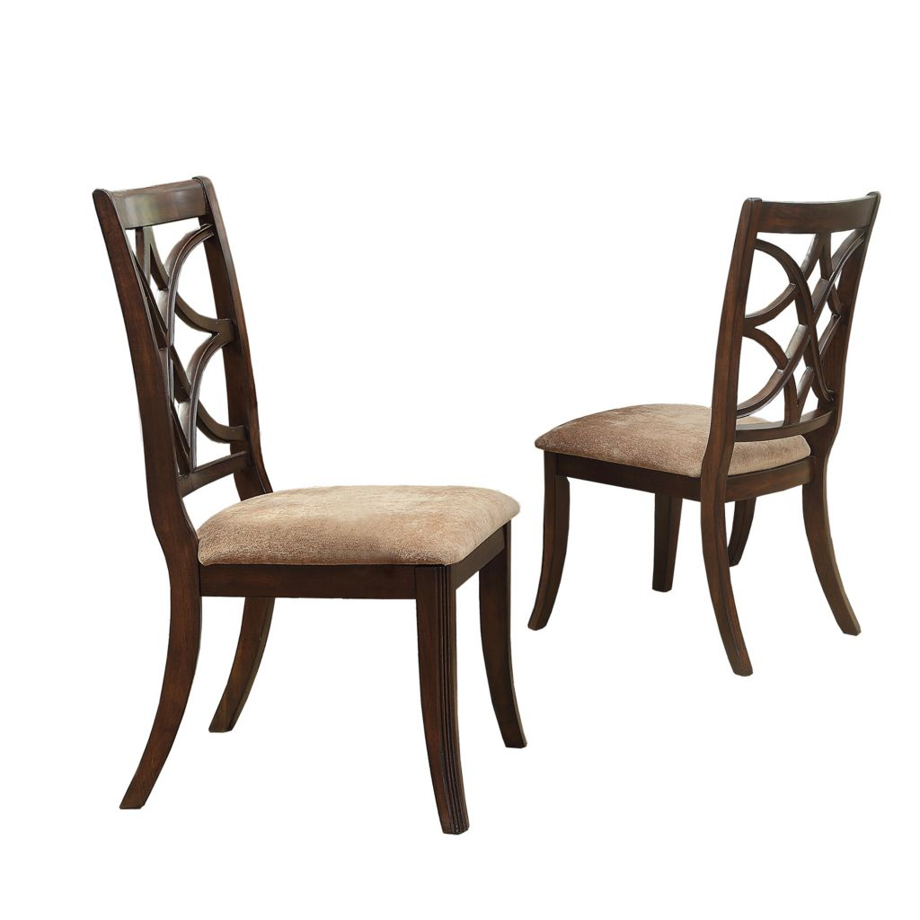 "445-947 - HomeBasica Set of Two 40.5"" Berkshire Side Chairs"