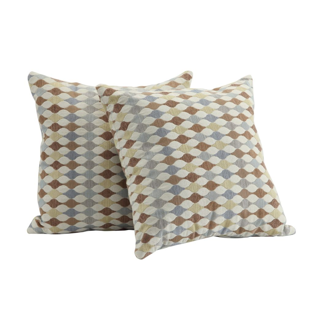 "445-989 - HomeBasica 18"" Two-Piece Lorel Polyester Pillow Set"