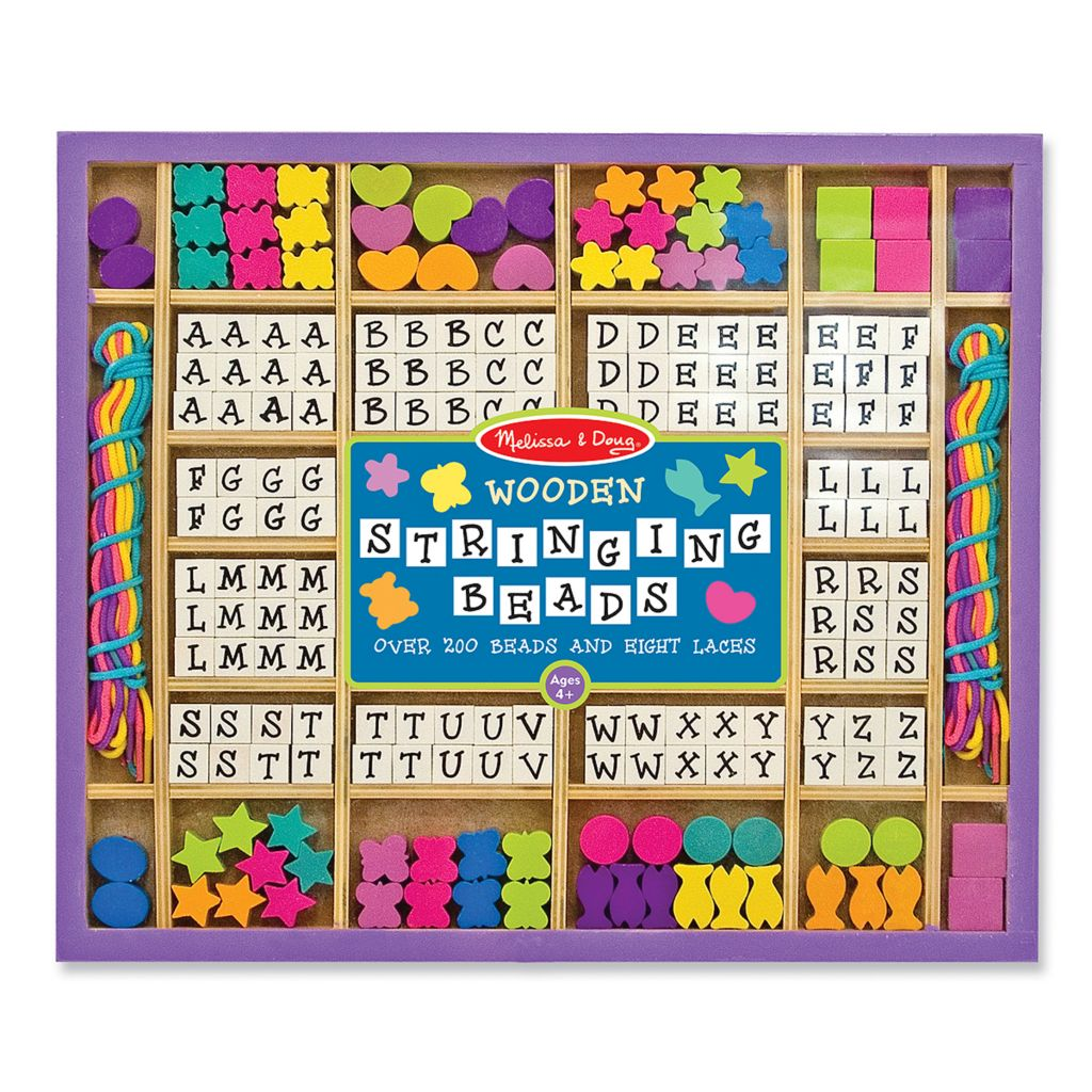 446-014 - Melissa & Doug® Wooden Stringing Beads
