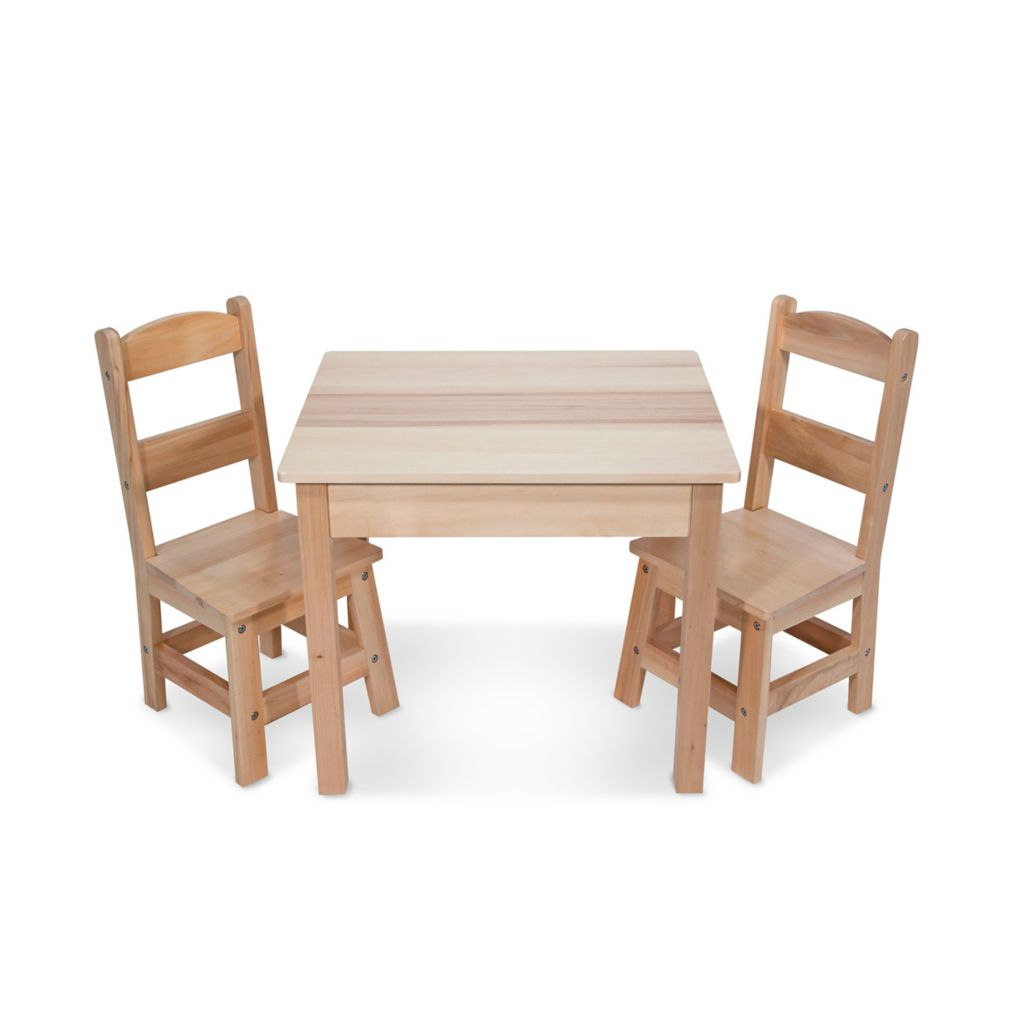446-022 - Melissa & Doug® Wooden Table & Chairs