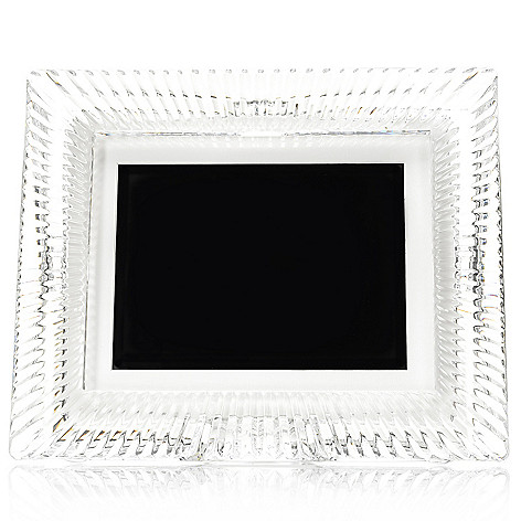 446-045 - Waterford Crystal Somerset 8'' Digital Photo Frame w/ Memory Card