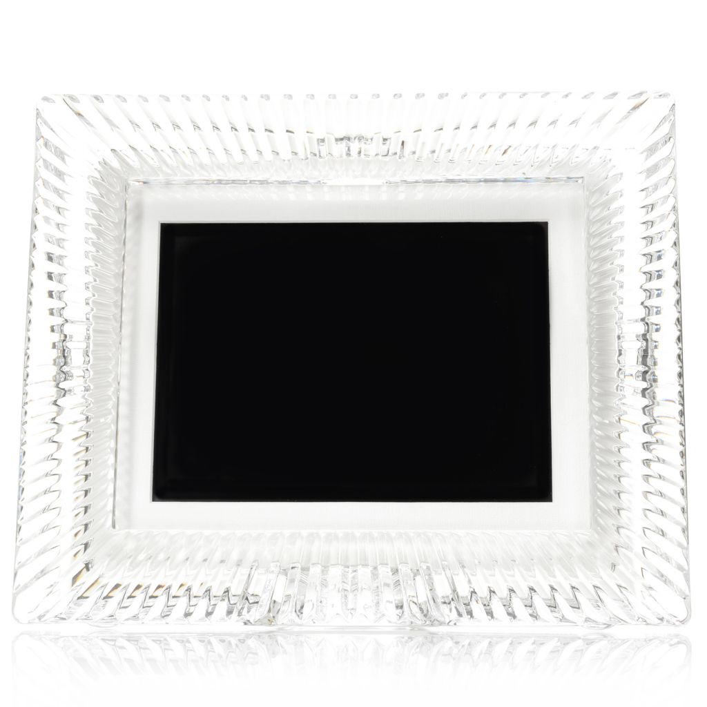 "446-045 - Waterford® Crystal Somerset 8"" Digital Photo Frame w/ Memory Card"