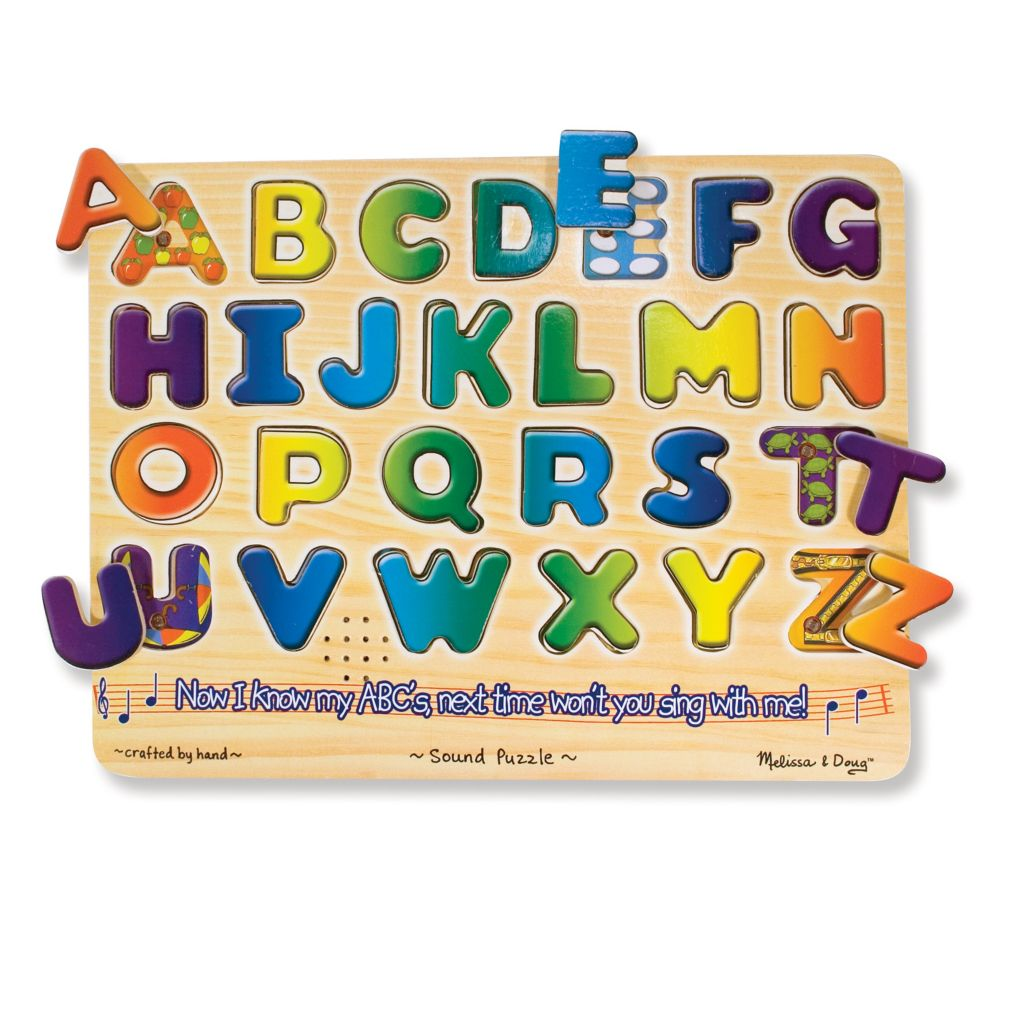 446-064 - Melissa & Doug® Sound Recognition Puzzle