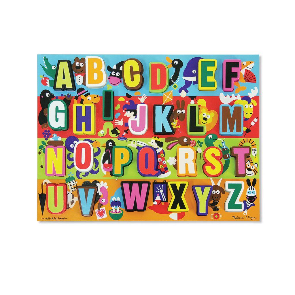 446-065 - Melissa & Doug® Easy Grasp Wooden Puzzle