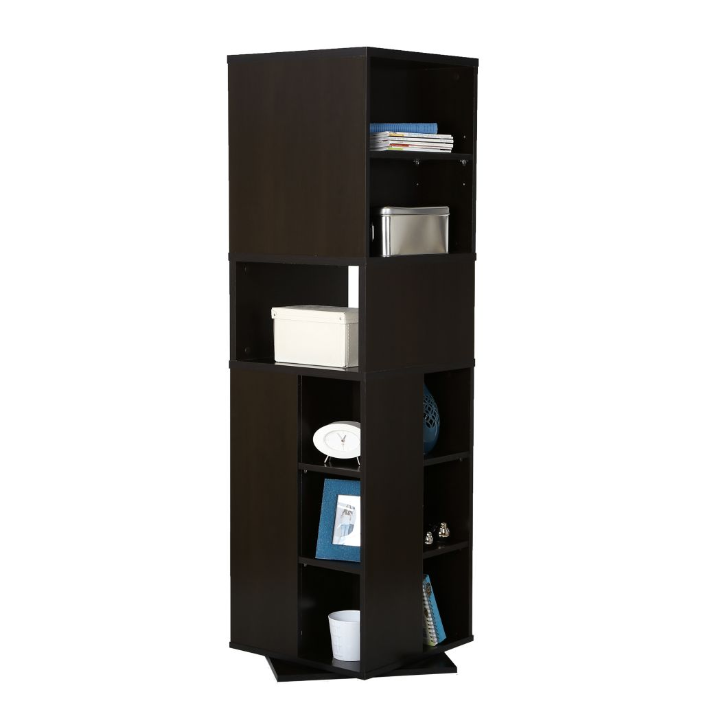 "446-088 - South Shore® 64"" Reveal Revolving Bookcase"
