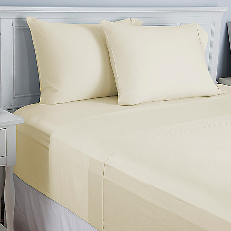 446-144 - North Shore Linens™ 410TC 100% Cotton Four-Piece Sheet Set