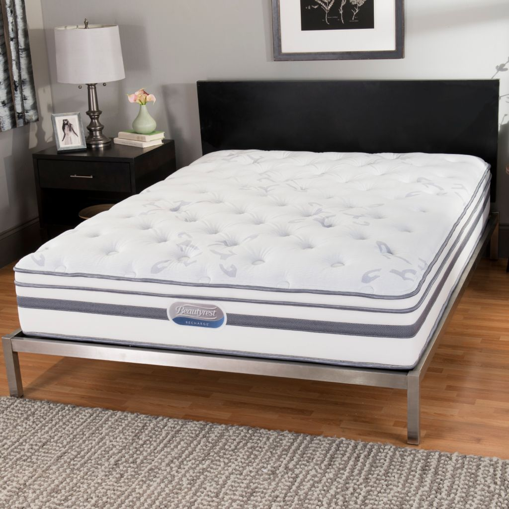 "446-150 - Beautyrest® Recharge® ""Windcrest"" Plush Euro Top Mattress ONLY"