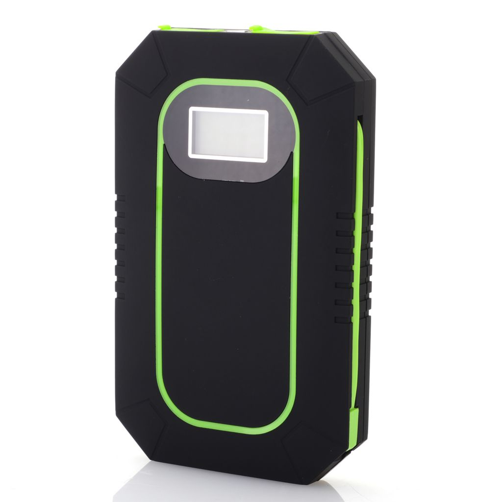 446-152 - Cobra® 6000mAh Portable USB Charger w/ Dual Solar Panels