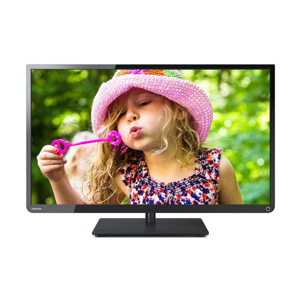 "446-154 - Toshiba 32"" 720p 60Hz LED-Backlit HDTV w/ Two HDMI Ports"