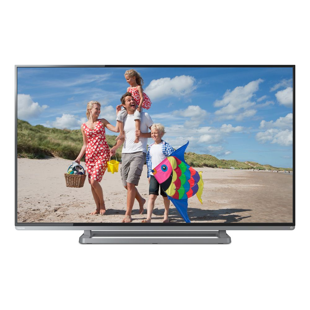 "446-159 - Toshiba 50"" Full HD 1080p 120Hz LED-Backlit HDTV w/ Two HDMI Ports"