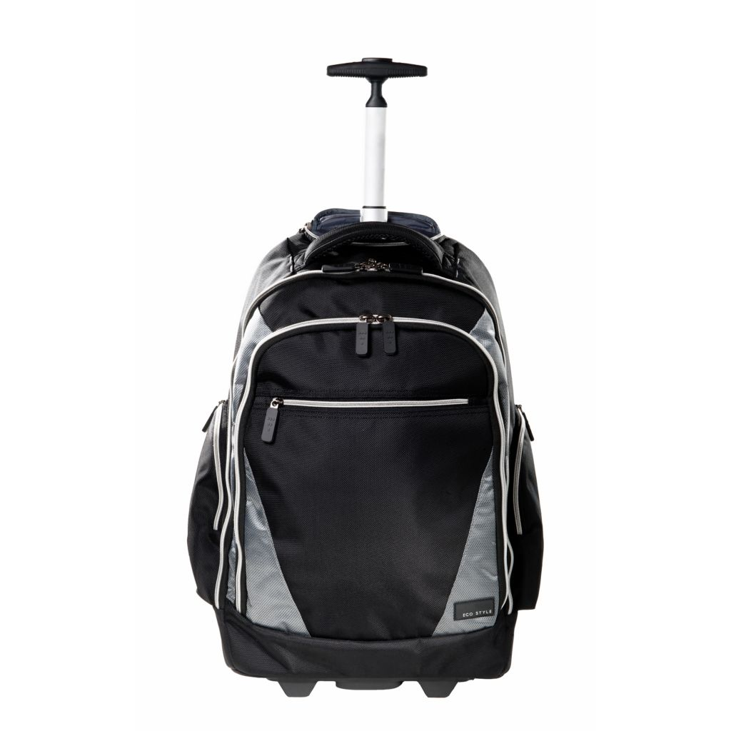 446-185 - EcoStyle Sports Voyage Convertible Rolling Backpack
