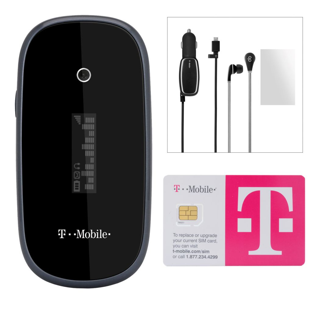 446-193 - T-Mobile OneTouch 665 Smartphone w/ Accessories & No Annual Service Contract