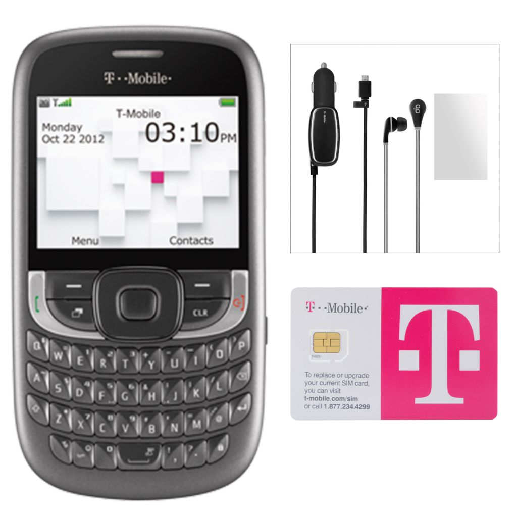 446-208 - T-Mobile Aspect 3G Smartphone w/ Accessories & No Annual Service Contract