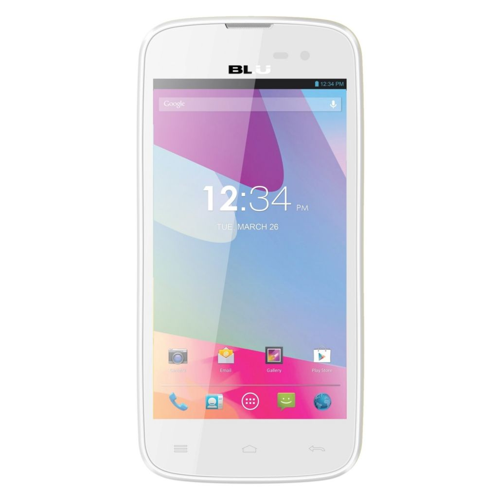 "446-225 - BLU Neo 4.5"" Android™ 4G Dual-SIM Unlocked Smartphone"