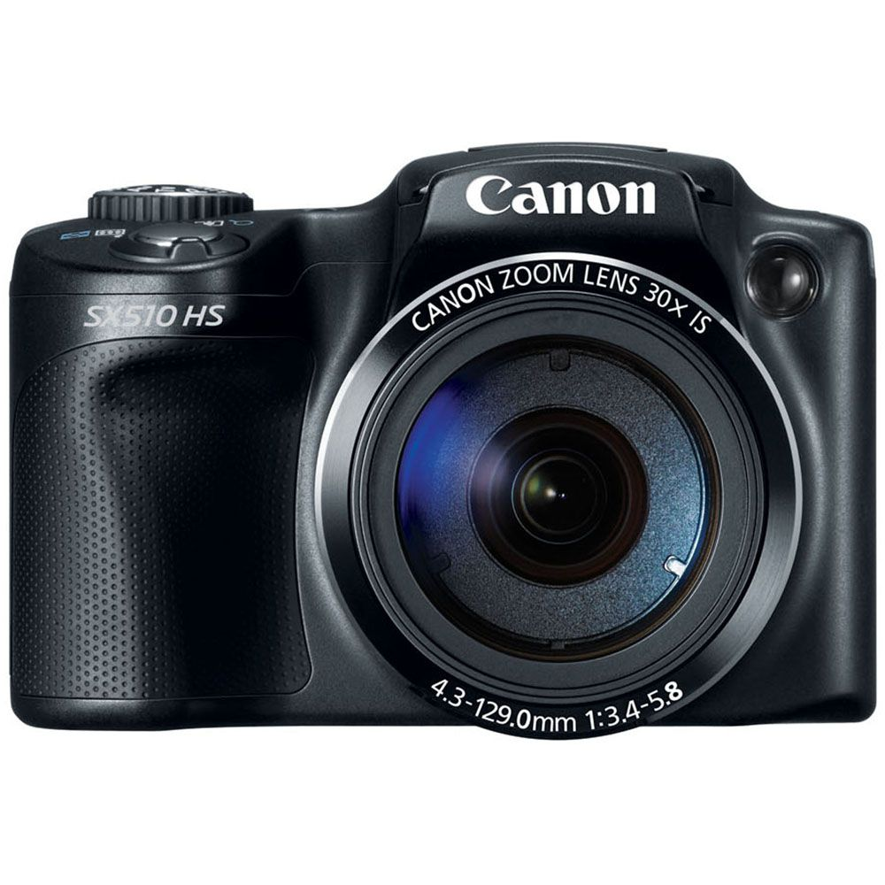 446-232 - Canon PowerShot SX510 HS 12.1MP Digital Camera