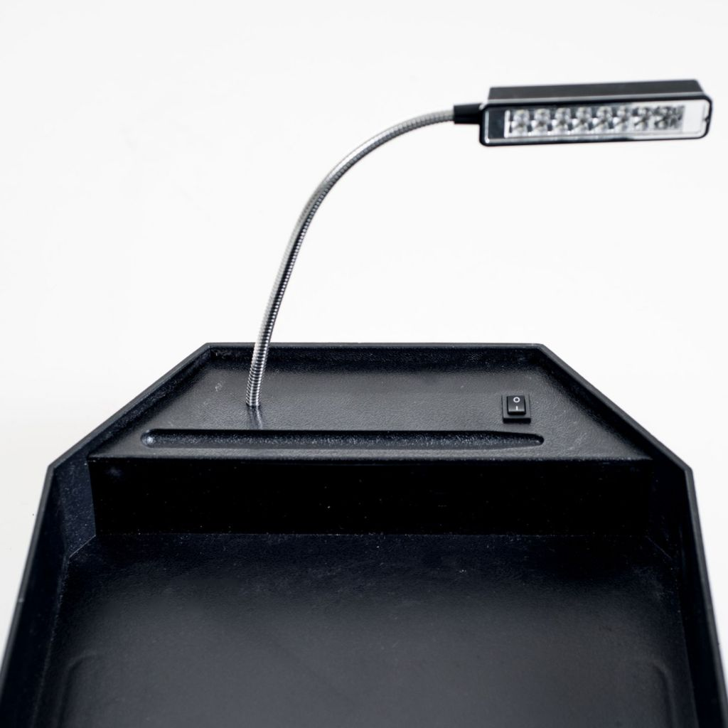 446-278 - Northwest Armrest Tray Table w/ LED Reading Light