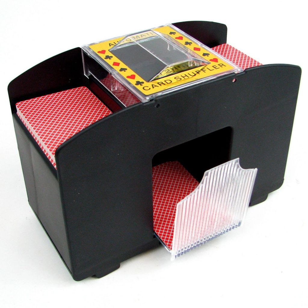 446-343 - Trademark Automatic Four-Deck Card Shuffler