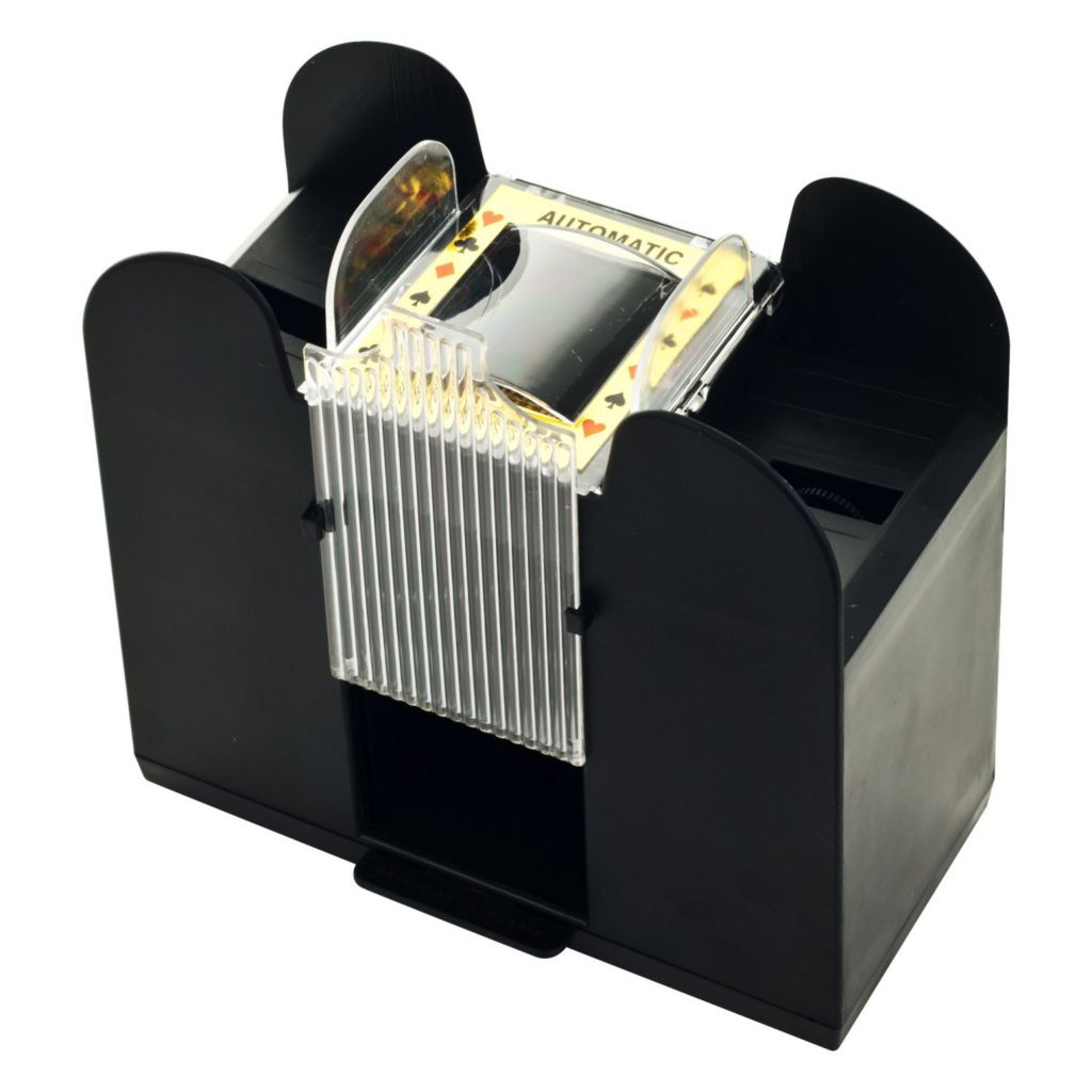 446-344 - Trademark Automatic Six-Deck Poker Card Shuffler