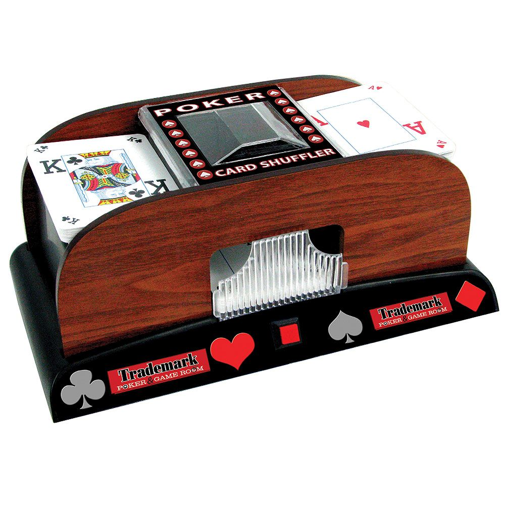 446-347 - Trademark Automatic Poker Card Shuffler