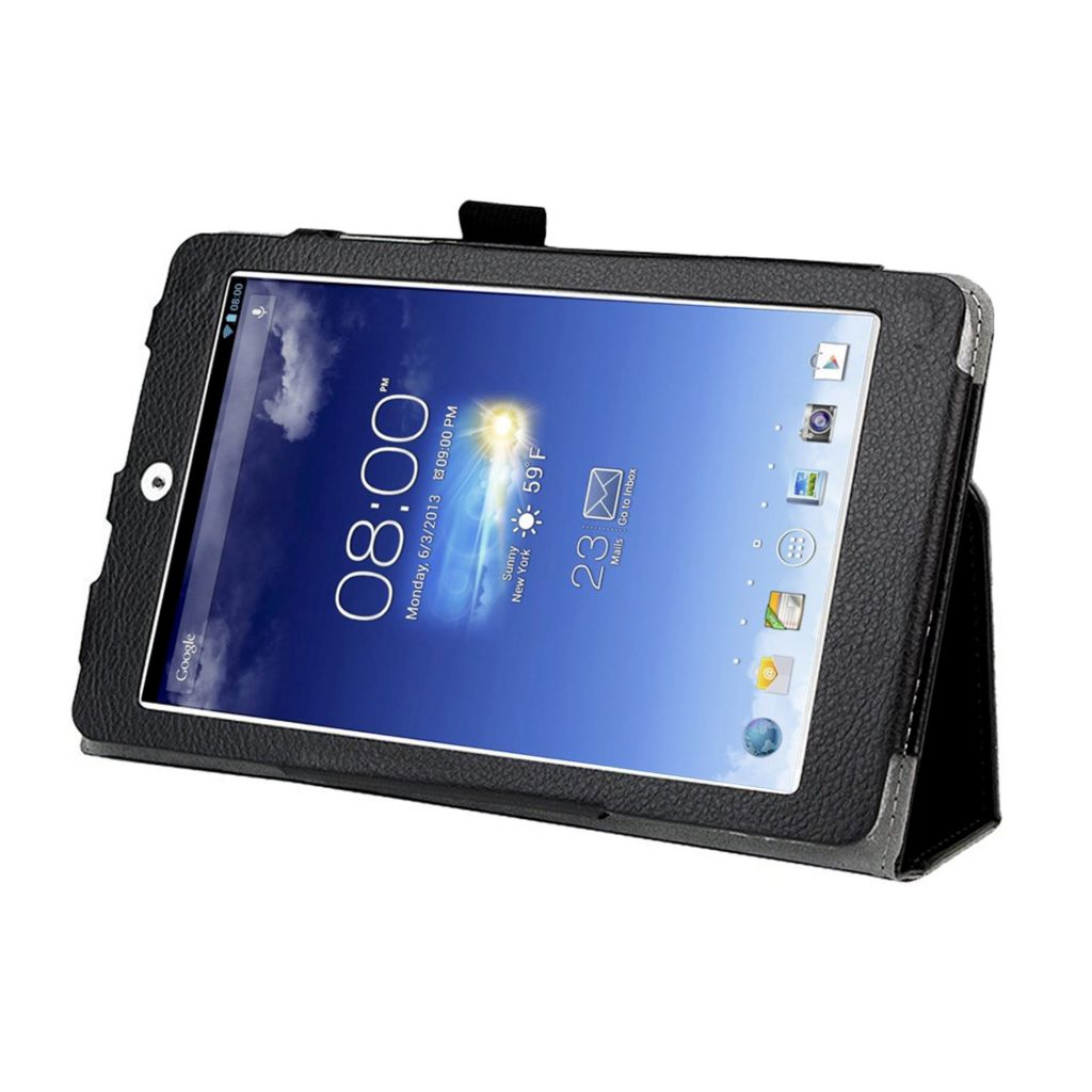 446-454 - Black Double-Fold Folio Case for ASUS Tablets