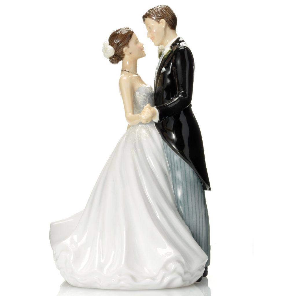 "446-479 - Royal Doulton® Occasions: Wedding Day 7.5"" Bone China Figurine -Signed"