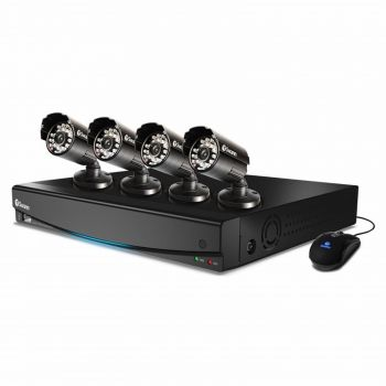 446-486 - Swann™ Four-Channel DVR4-1000 DVR & Four-Piece PRO-530 600TVL Security Camera System