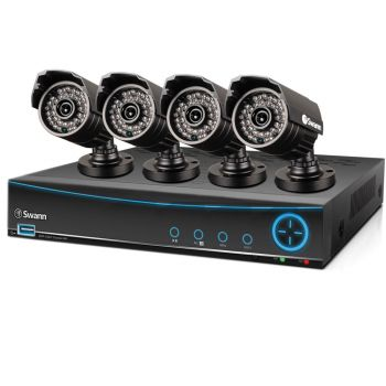 446-492 - Swann™ Four-Channel DVR4-3200 DVR & Four-Piece PRO-642 700TVL Security Camera System