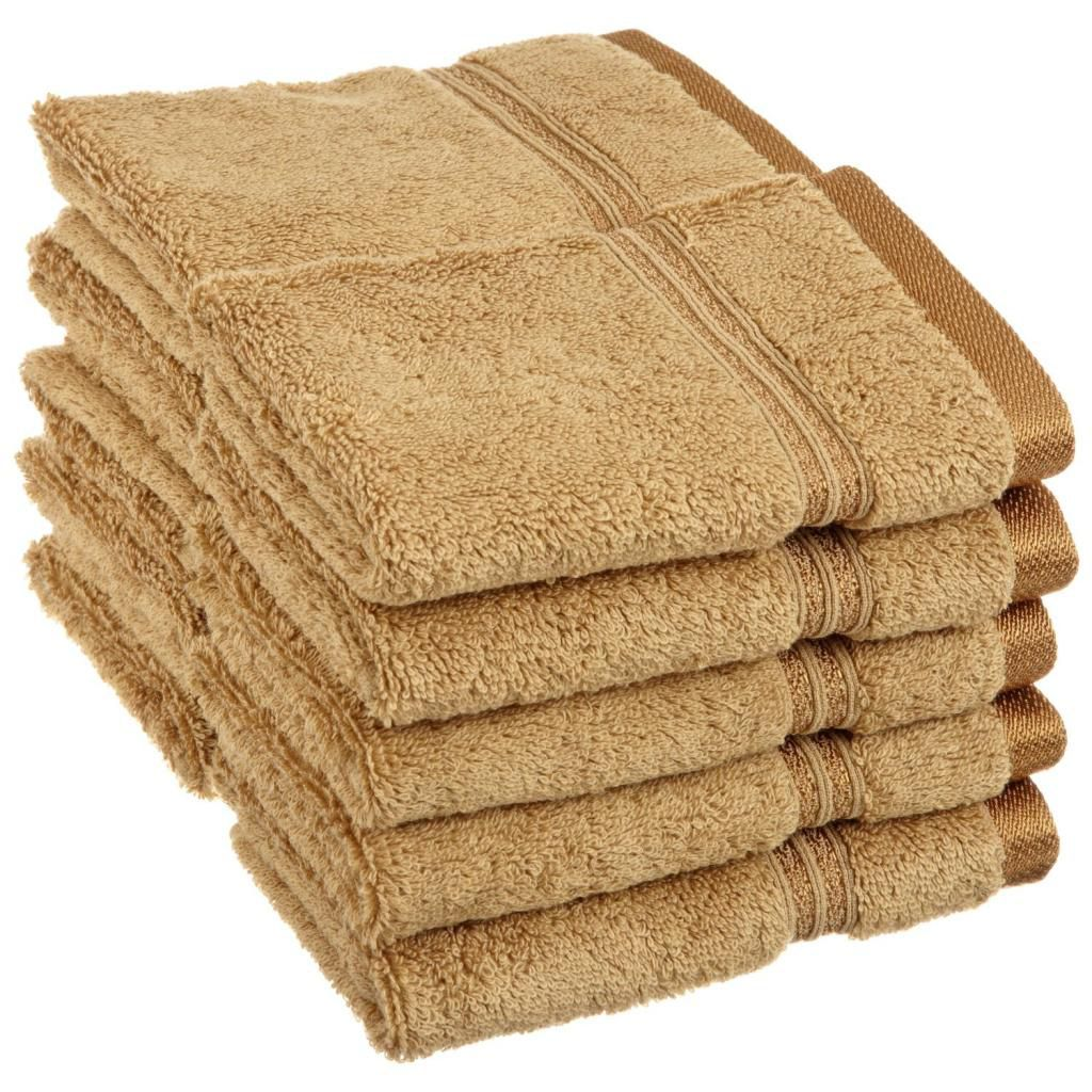 446-529 - Superior 600 GSM 100% Egyptian Cotton 10-Piece Face Towel Set