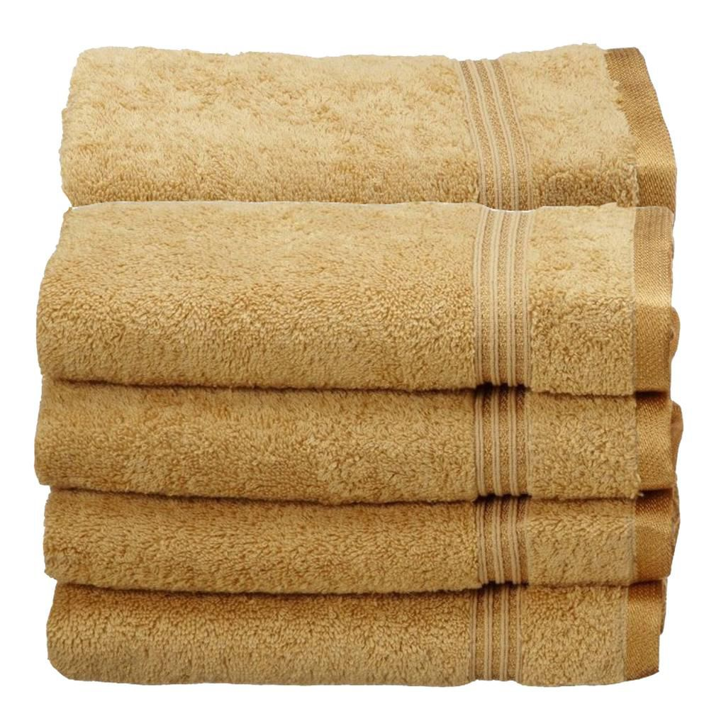 446-530 - Superior 600 GSM 100% Egyptian Cotton Eight-Piece Hand Towel Set