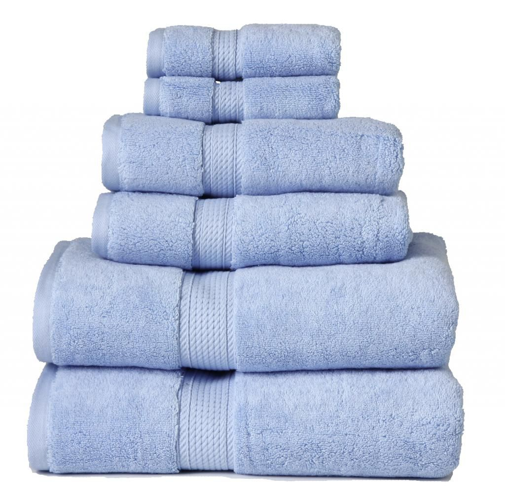 446-532 - Superior 900 GSM 100% Egyptian Cotton Six-Piece Towel Set