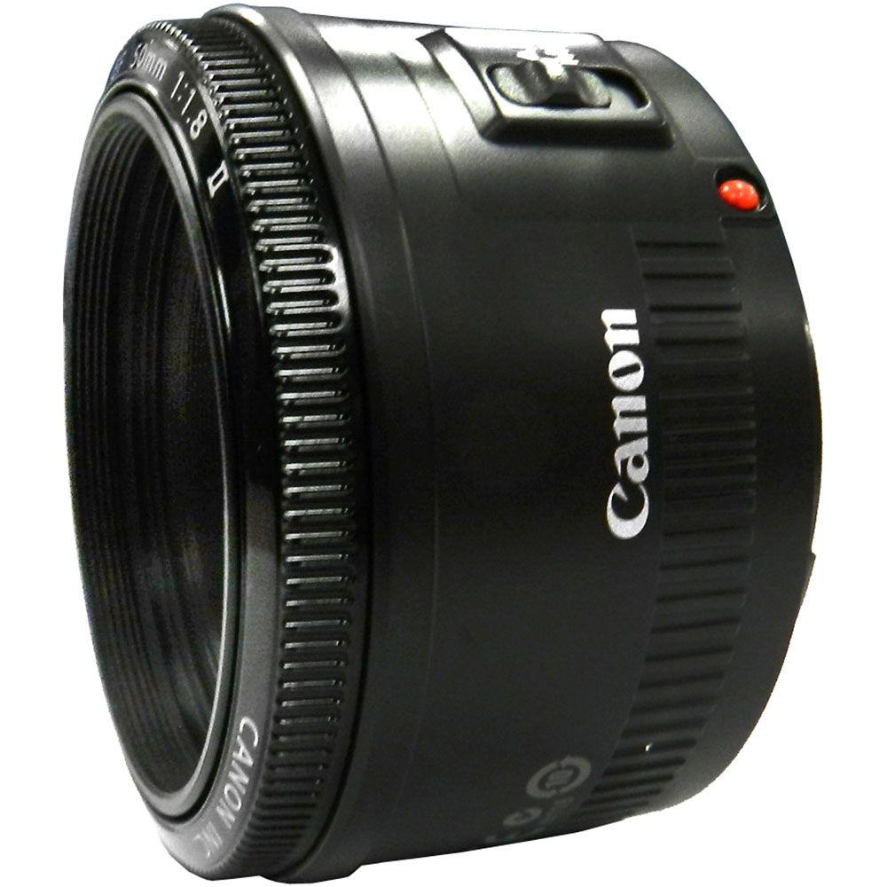 446-600 - Canon EF 50mm f/1.8 II Standard & Medium Telephoto Lens