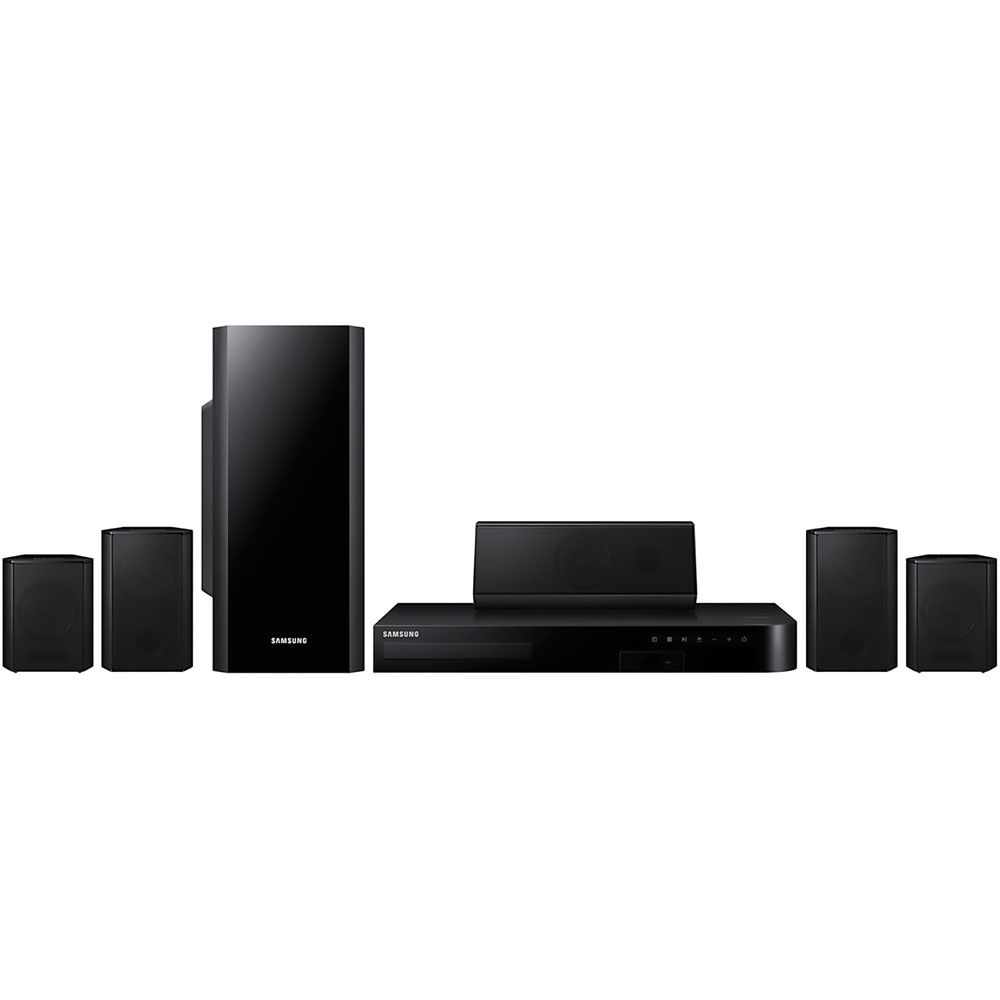 446-608 - Samsung Blu-ray Home Theater System w/ Wi-Fi & Bluetooth® Speakers