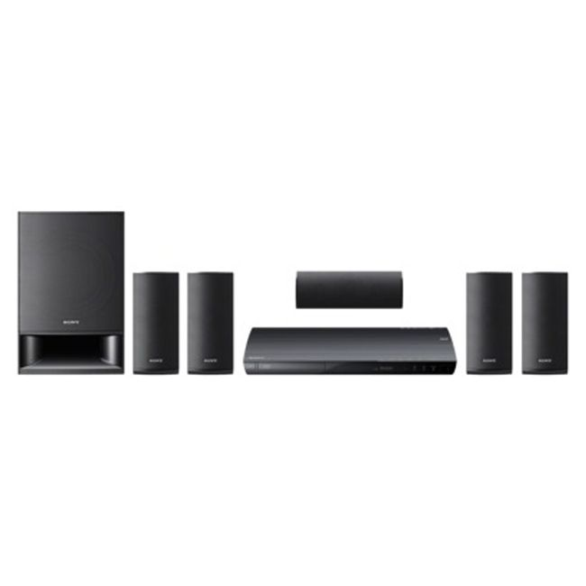 446-638 - Sony 1000W 5.1 Home Theater System w/ Blu-ray Disc Player & Wi-Fi - Refurbished