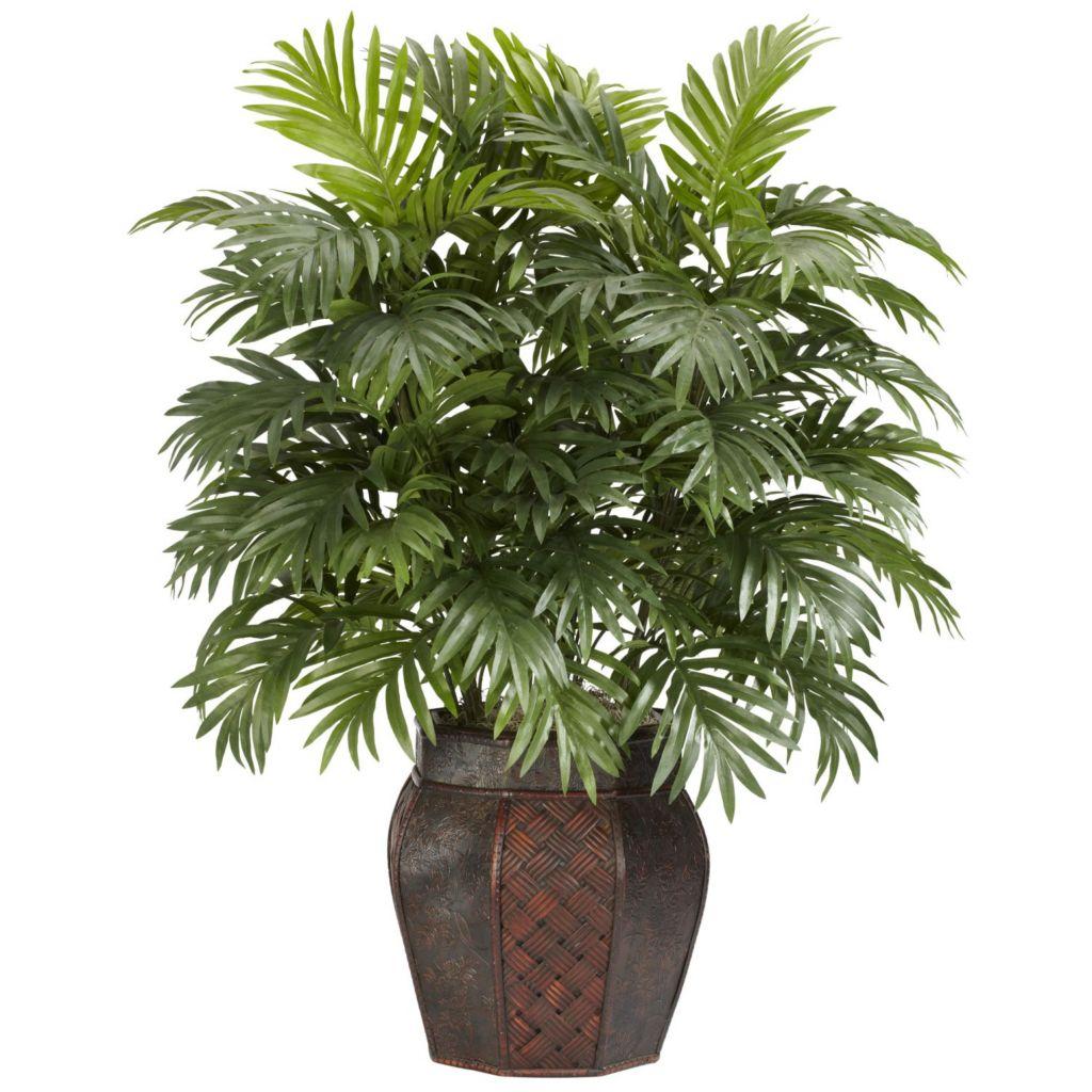 "446-950 - 38"" Areca Palm Silk Plant w/ Vase"