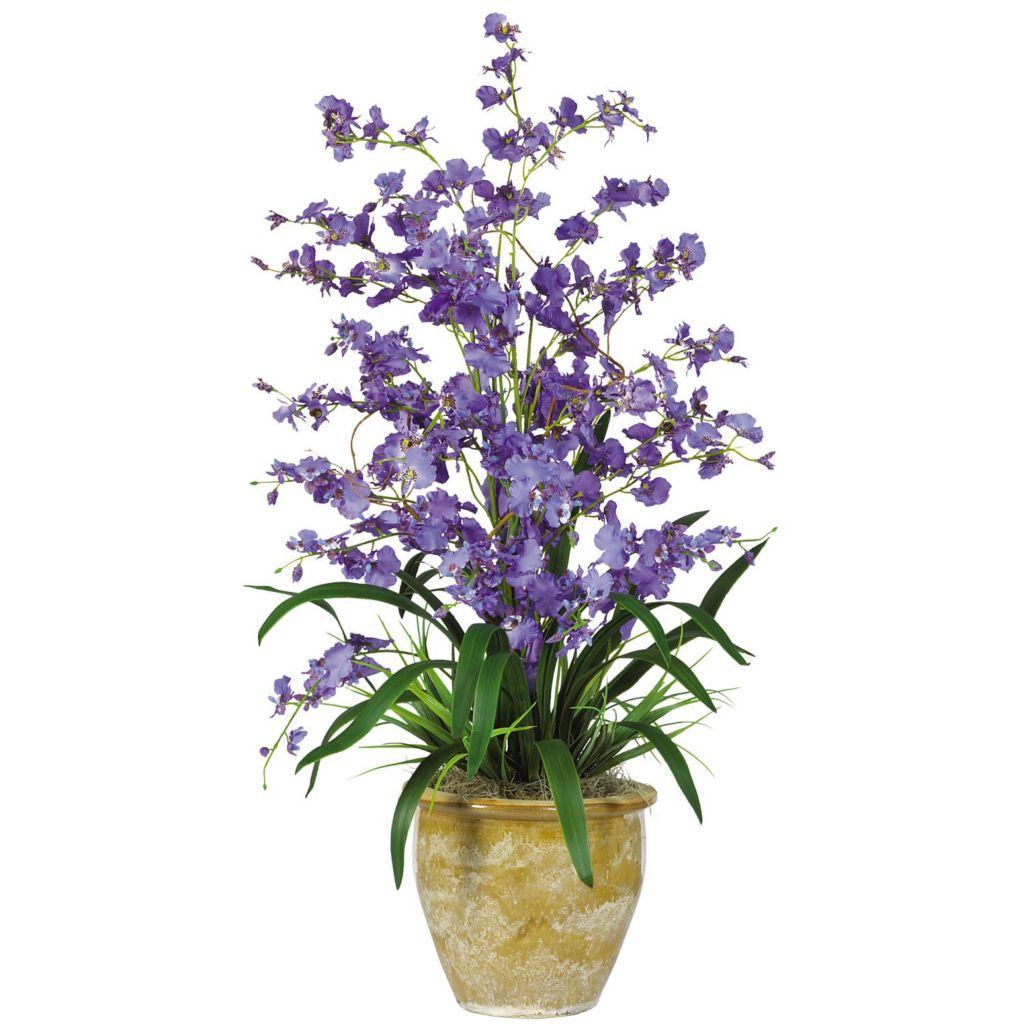 "446-956 - 32"" Triple Dancing Lady Silk Flower Arrangement"