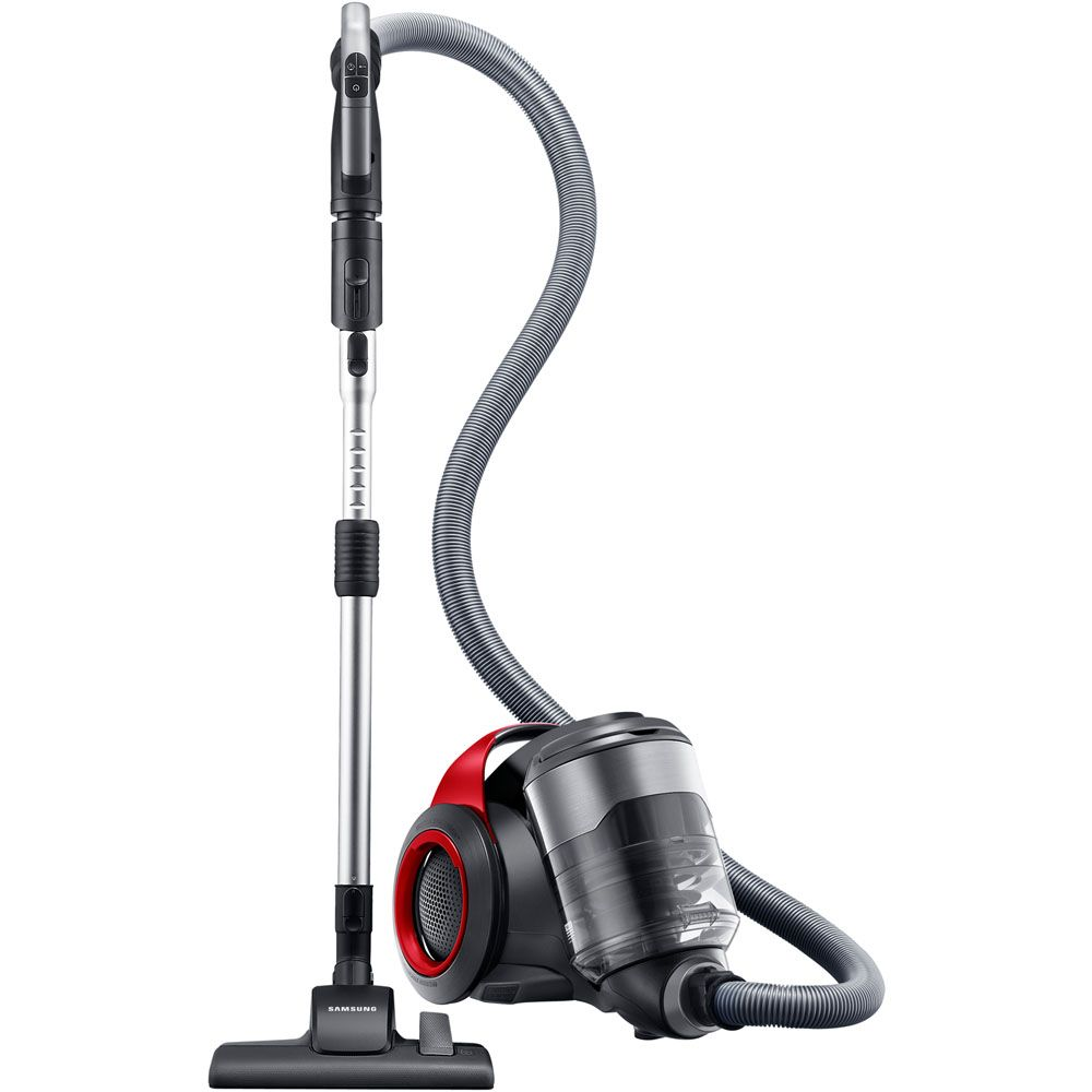 447-039 - Samsung Bagless Canister Vacuum w/ Two-Step Air Driven Brush