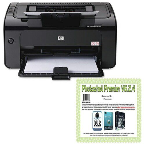 447-046 - HP Laser Jet Pro Smart Install Printer w/ Built-In Wi-Fi