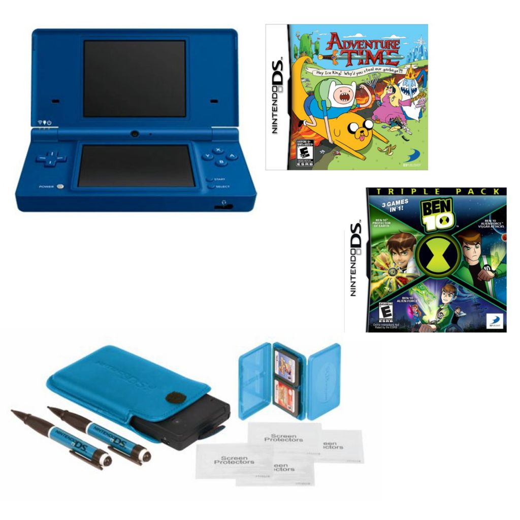 447-066 - Nintendo DSi Essentials Starter Pack Bundle w/ Two Games